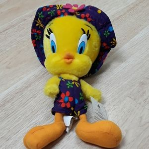 NEW! Vintage Tweety Bird With Hat & Outfit Plush